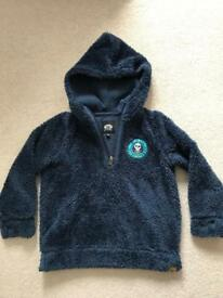 Boys Animal fleece age 5-6