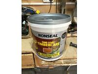 Ronseal timber care harvest Gold 9 L
