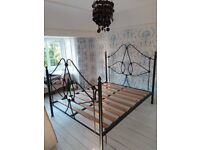 Beautiful (King size) Cast Iron Bed