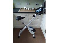 davina mccall folding exercise bike, battery box for electrics do not work.£20