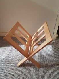 For Sale Wooden Magazine Rack