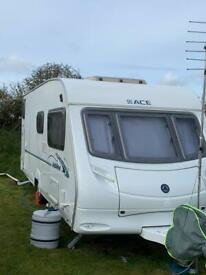 Ace Jubilee Courier Caravan 2007 immaculate