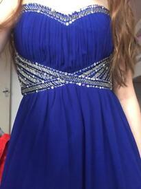 Blue prom dress size 10