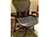 Herman Miller Aeron Office Chair Posture Fit Size B BRAND NEW IN BOX GENUINE NOT REFURBISHED