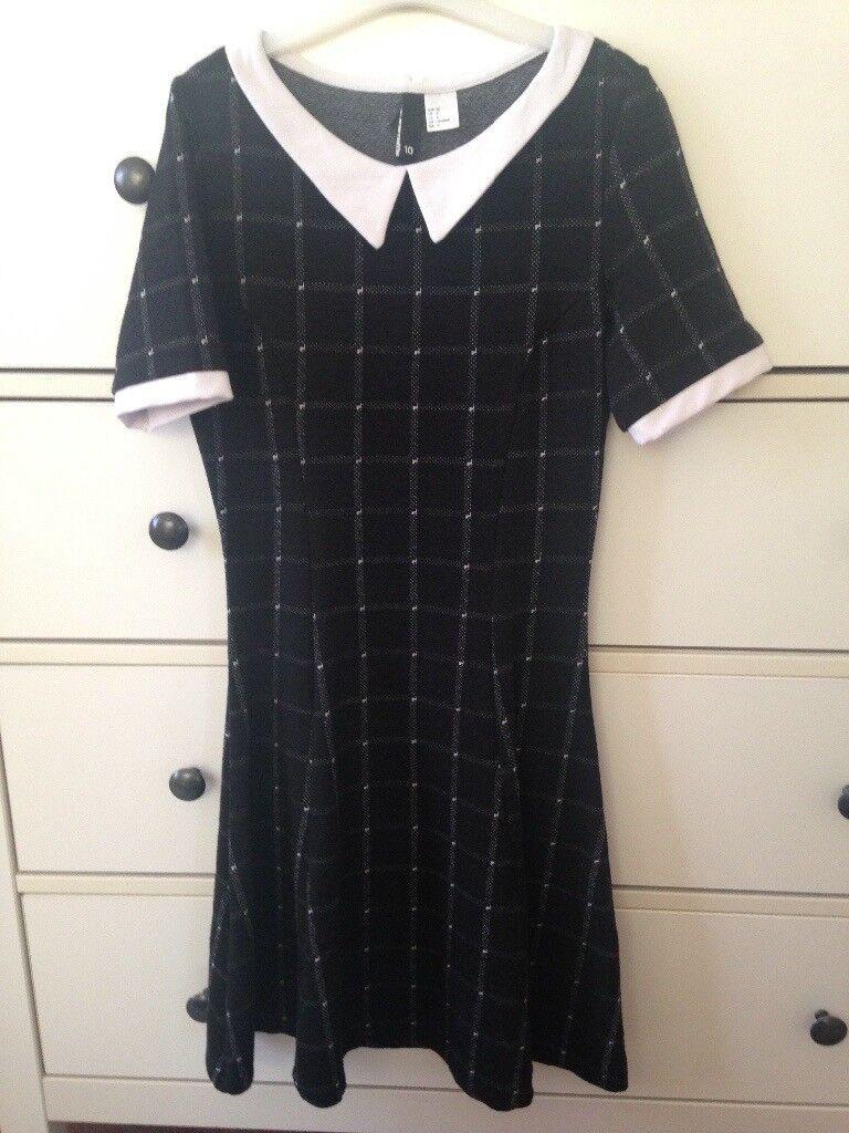 H &M shift dress size 10