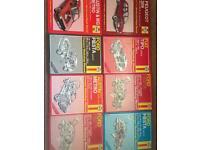 12 Haynes Car Workshop Repair and Service Manuals