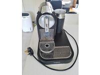 Black & Chrome Nespresso Magimix M190 Milk