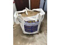 Bulk Bag Coarse Sharp Sand 0mm To 4mm - 900kg - COLLECTION ONLY