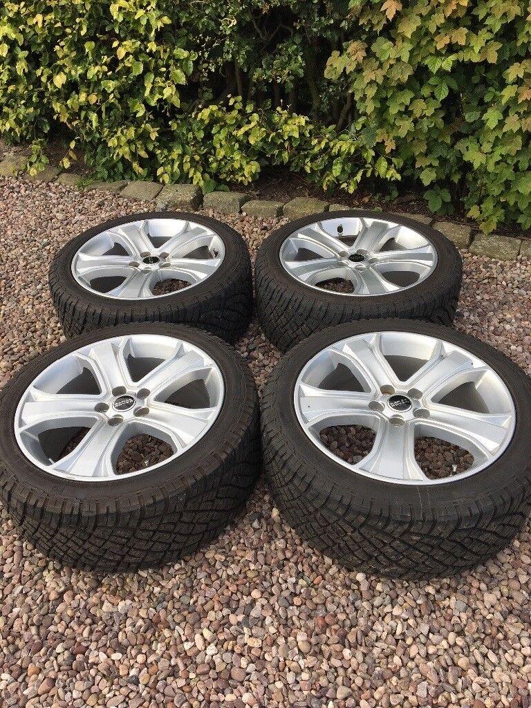 Genuine Range Rover Sport / P38 Wheels & Tyres. Immaculate