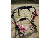 Bike rack halfords carries two bikes