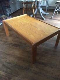 Coffee table/kids play table