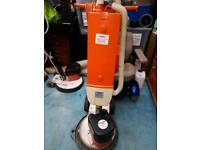 R38 floor buffer with skirt and Hoover pack