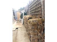 Old - reclaimed stocks for sale. 300+, some half's. All ready to be collected.......