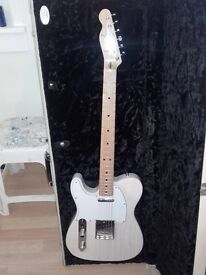 Left Handed White Ash Crafted In Japan Fender Telecaster 70's Reissue