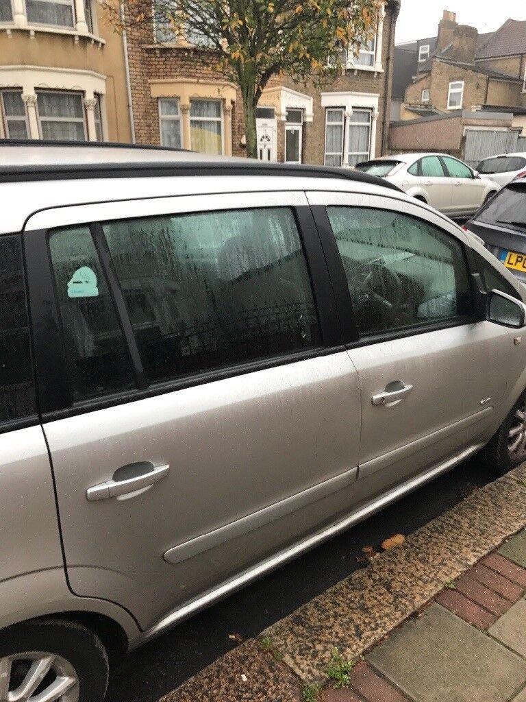 Quick Sale- Vauxhall Zafira Club 1.6 Petrol