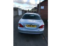 Jaguar x type 2.5cc v6 petrol 4x4 low mileage and service history