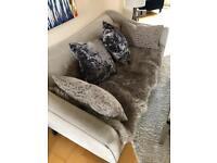 John Lewis Three Seater Fabric Sofa | RRP £1250