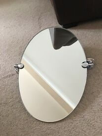 Bathroom Mirrors Gumtree mirror for sale in poole, 59cm x 75cm,next, wooden edge | in