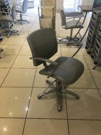 Hairdressing furniture for sale all in excellent condition. Basins, chairs, mirror sections.