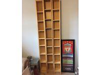 DVD / CD shelf storage