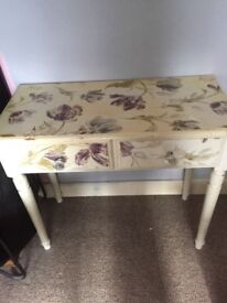 up cycled dressing table