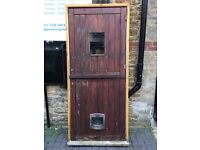 Stable door for sale . House or horses . With frame