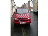 Vw t4 caravelle lwb long nose front 9 seater
