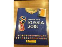 Panini 2018 Russia stickers needed. Willing to buy