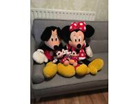 Large mickey and mini mouse