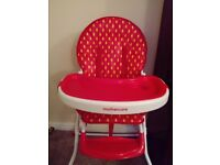 Kids high chair Mothercare
