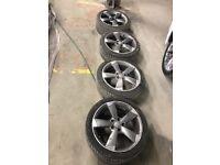 Audi A3 s3 rotor alloy wheels genuine 18''