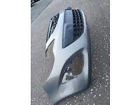 2015 Vauxhall Corsa D front bumper