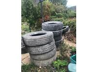 Large truck tyres