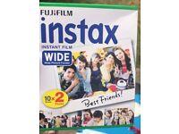 Fujifilm instax mini instant film - polaroid camera film 40 shots - DIY wedding photo booth