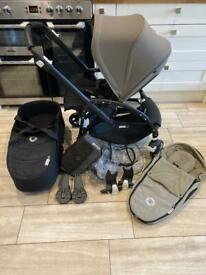Bugaboo Bee 5 full travel system with extras in great condition