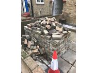 FREE OF CHARGE DRIVEWAY PAVING BLOCKS approx 100mm X 200mm APPROX 700 BLOCK