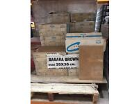 Brown Gloss Ceramic Wall Tiles 20x30cm,29m2 Job Lot Clearance Bargain Offer Deal