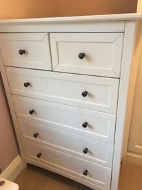 Argos camborne white chest of drawers