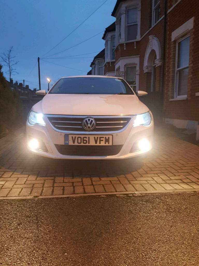 VW PASSAT CC#SPORT#WHITE#IMACULATE CONDITION#PCO#UBER READY#FULL SERVICE HISTORY
