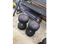 34kg Dumbbells