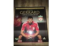 Liverpool FC Limited Edition 2007/2008 Home Shirt Signed By Steven Gerrard