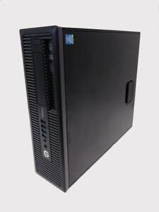 CLEARANCE! HP ProDesk 600 G1  Intel i5-4570 Quad-Core/ 8GB RAM / 256GB Solid State Drive + 1 Yr Warranty + Free Ship!
