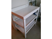 John Lewis baby changing table - nearly new