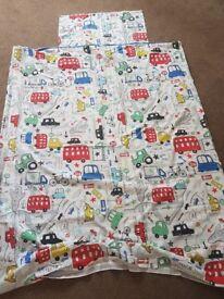 Next Boys Beep Beep Toddler Bedding set