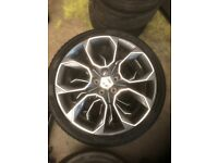 "19"" Skoda VRS Extream alloys 5x112 Genuine"