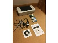 HP Deskjet 1010 A4 Printer - hardly used and comes with manuals, CDs, cables and spare cartridges