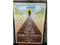 ORIGINAL FILM POSTER FOR EVIL UNDER THE SUN