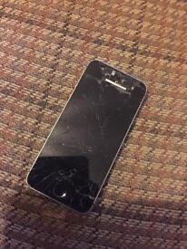 iPhone 5s broken screen sfs 07811010487