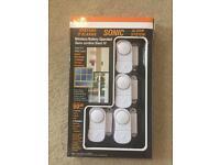 BNIB wireless window/ door security alarms