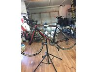 Ghost road bike. Size 54 . 30 speed. Hardly used .